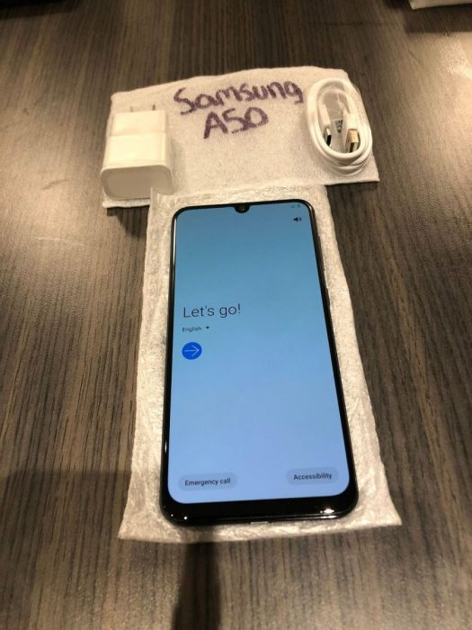 Samsung A50 Front